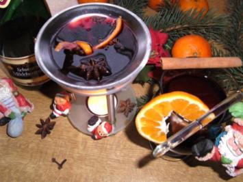 """"""" Wunderlampen-Glühwein"""" .. ein Spaß für die Familie ;-)) - Rezept"""
