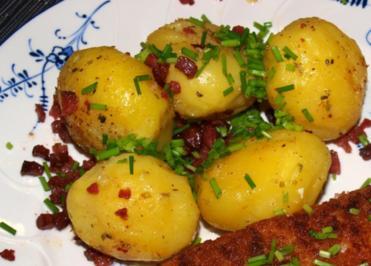 Quallmännche oder auch Pellääpel met Speck (Speckkartoffeln von Marietta us'm Veedel) - Rezept