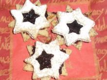 Mohn-Pflaumen-Sterne - Rezept