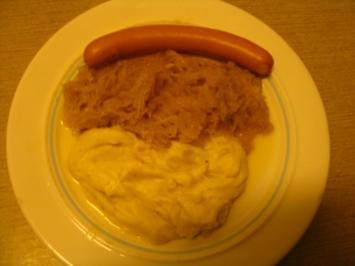 monni`s Sauerkraut mit Würstel - Rezept