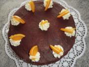 &#9829 Orangen - Schicht -Torte &#9829 - Rezept