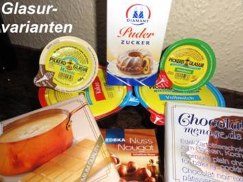 Diverses:   GLASUREN und Überzüge - Rezept