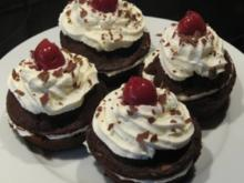 Kirsch-Sahne-Muffins - Rezept