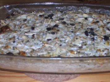 Beilage / Obst u. Gemüse: Apfel - Chicoree - Gratin - Rezept