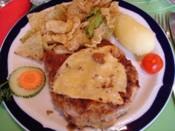 Kotelett mit Kartoffeln und angebratenem Wirsing - Rezept