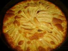 Apfelkuchen mit Schmandguss - Rezept