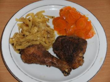 Fleisch: Hähnchen mit Rosmarin - Rezept