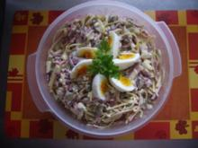 Spagettisalat - Tante Else - - Rezept