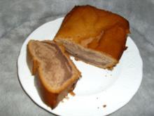 Rührkuchen mit Schoko und Rum - Rezept