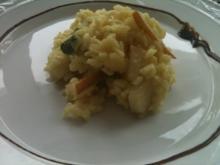 Winterliches Birnen-Salbei-Risotto - Rezept