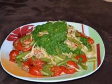 Pasta mit karamellisierten Tomaten und Tunfisch - Rezept