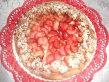 Erdbeer-Blätterteig-Torte - Rezept
