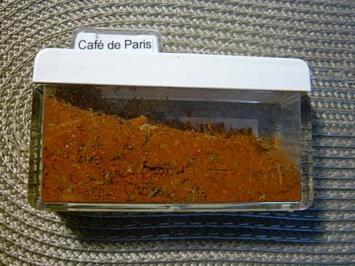 Café de Paris  -  Gewürzmischung für Kräuterbutter / Pfefferbutter - Rezept