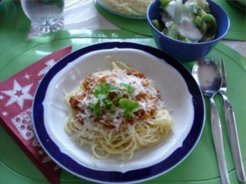 Spaghettini – Bolognese - Rezept