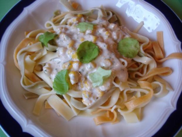 Gorgonzola-Sauce mit Nudeln - Rezept - Bild Nr. 24