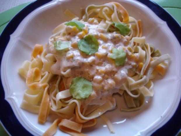 Gorgonzola-Sauce mit Nudeln - Rezept