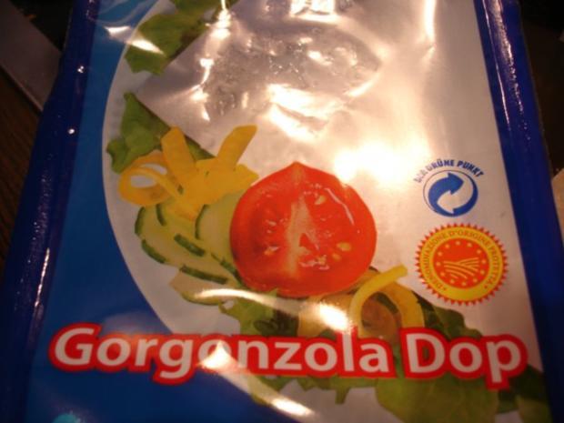 Gorgonzola-Sauce mit Nudeln - Rezept - Bild Nr. 2