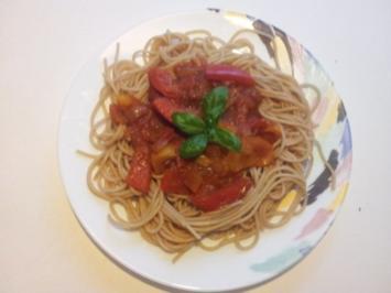 Vegetarische Pasta - kosovarische Art - Rezept