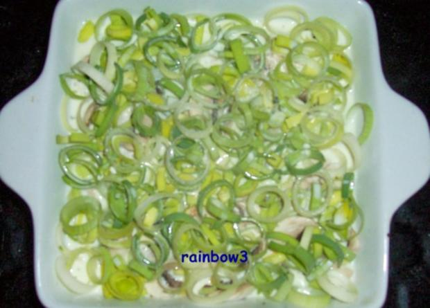 Kochen h hnchen pilz porree auflauf rezept for Kochen 5 personen