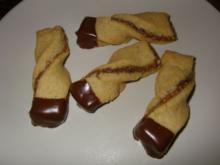 Erdnuss-Stangerl - Rezept