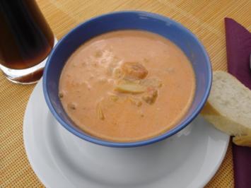 """Ess  mich - """" ganz dumm  dran """" - Suppe - Rezept"""