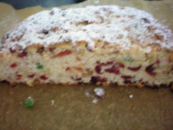 Rezept: Stollen - Mandel-Cranberry