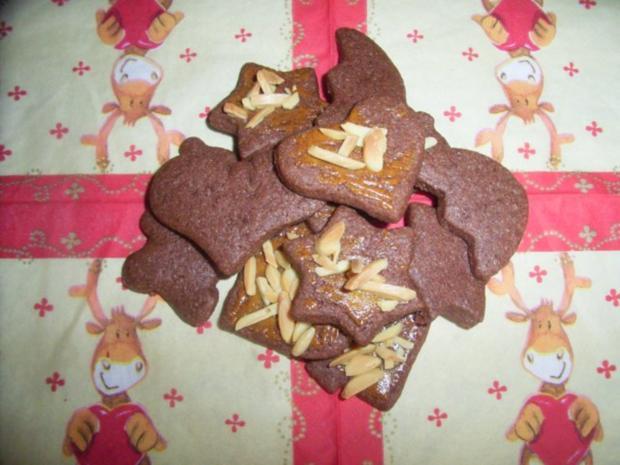 Schokoladige Zimtplätzchen - Rezept