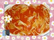 Schneller Nudelauflauf mit Tomatencreme - Rezept