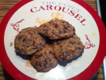 """""""KEKSE"""" Cashew-Schoko-Cookies - Rezept"""