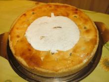 Apfelkuchen mit Quarkguss - Rezept