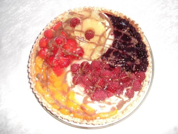 Bunter Obstkuchen - Rezept