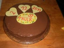 Birnen-Schokoladen-Torte - Rezept