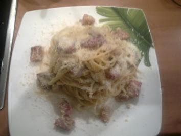 Carbonara (original Rezept aus Calabrien) - ohne Sahne !!!!! - Rezept