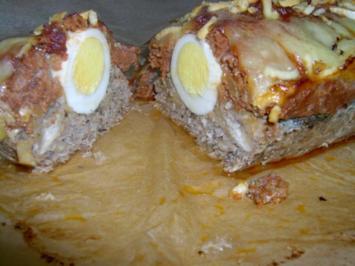 Hackfleisch-Pastete mit Würzgemüse - Rezept