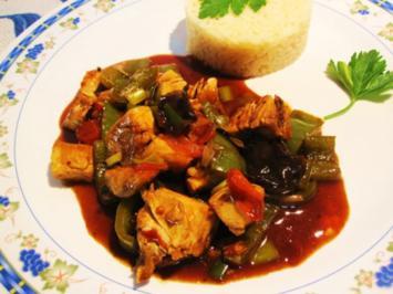 Chop Suey mit Hühnerbrüstchen ... - Rezept