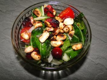 Paksoi-Salat mit Cranberries, frisch und - Rezept