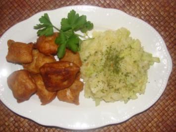 Weißwein-Ausbackteig für Fisch, Fleisch und Gemüse. - Rezept