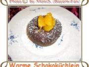 Warme Schokoküchlein - Rezept