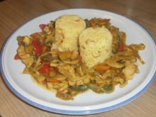 Gemüse- Puten - Pfanne nach Asiatischer Art - Rezept
