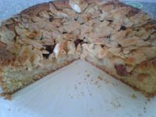 Apfelkuchen mit Mandelkruste - Rezept