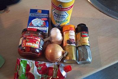 chicken Palak (indisch) - Rezept