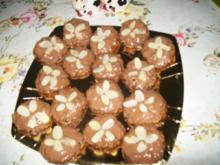 Müsli - Berge mit  Schokoladen - Überzug - Rezept