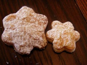-Weihnachten- Marzipanplätzchen - Rezept