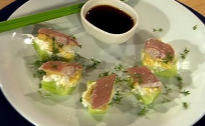 Friesen-Sushi mit Räucheraal (Männer) - Rezept