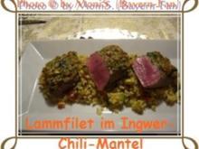 Lammfilet im Ingwer-Chili-Mantel - Rezept