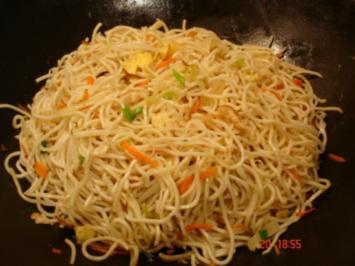 Chinesische Bratnudeln - Rezept