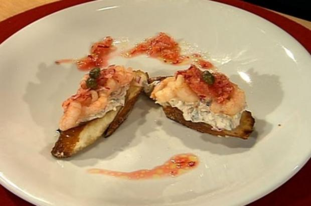 Shrimps-Häppchen (Frauen) - Rezept