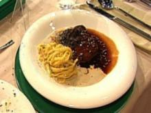Medaillons vom Bison mit Trüffelpasta à la Kleeberg - Rezept