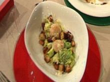 Caesar Salad mit Jakobsmuscheln (Leo Bartsch) - Rezept