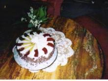 Schoko-Birnen-Torte - Rezept
